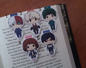 Magnetic Bookmarks | School of Heroes I