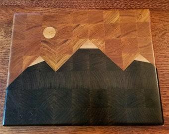 Mountain Cutting Board