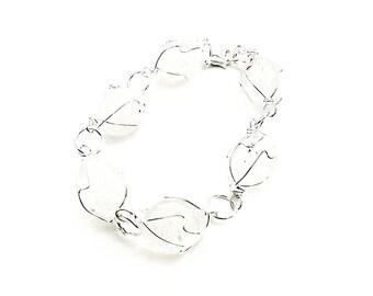 Quartz Wirewrapped Bracelet