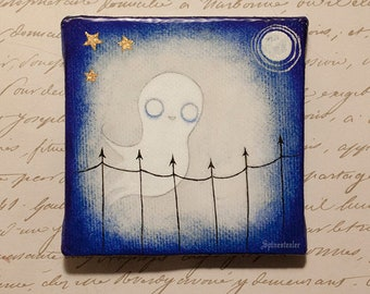 Ghost At Midnight miniature painting