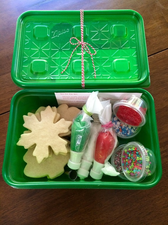 Christmas Cookie Decorating Kit Perfect Party Cookies