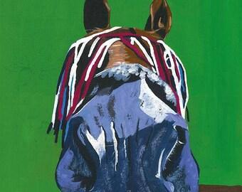 Horse (A4 print)