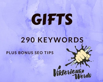 SEO Gifts Keywords Gifts Tags Popular Keyword Optimization Titles Product Tags Marketing Search Results Instagram Hashtag Copywriting etsy13