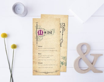WEDDINGS | DIY Printable