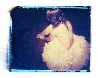 Gift for Dancer Ballet Polaroid Photography Ballerina Tutu 11x14 Print
