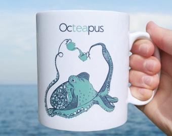 Funny Mug | Octeapus mug  | Pun Mug |