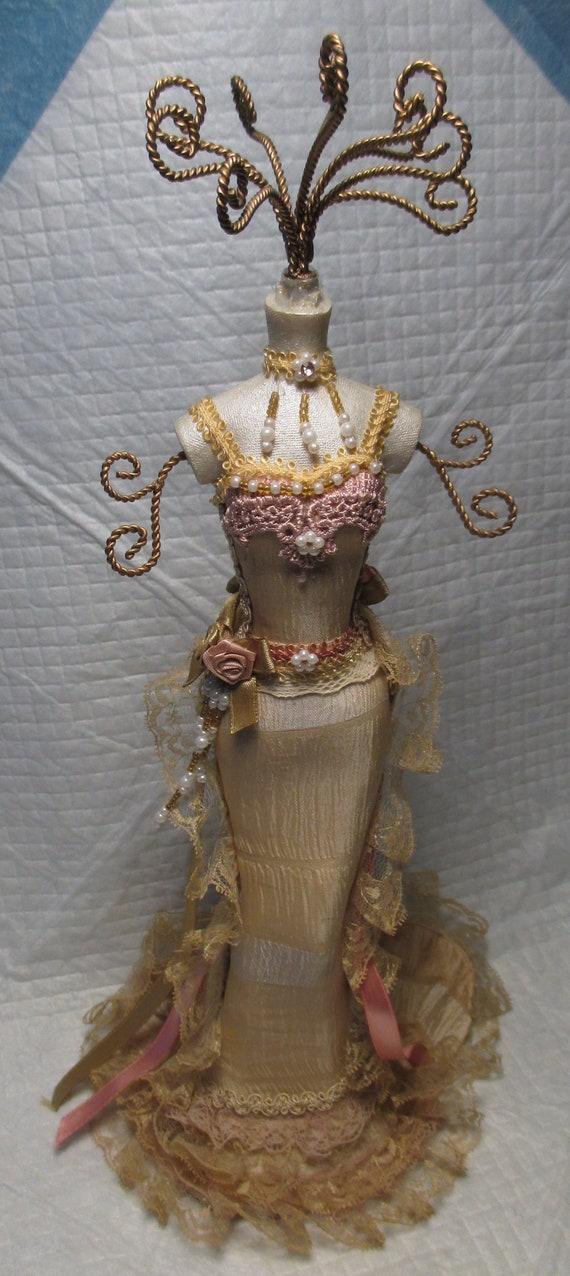 Decorative Ladies Dress Form Mannequin JEWELRY RACK STAND