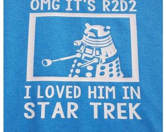 R2D2 Dalek Star Trek Shirt