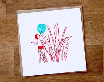 Orchid Cactus | Screenprint | Les Petites Siestes