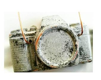 Concrete Camera/Camera Air Planter/Air Planter/Photographer Gift/Air Plant holder/Camera Decor/Concrete Decor/Photographer Lover/Industrial