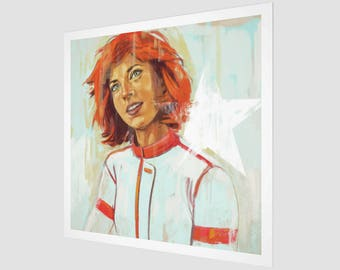 Dynamite Red - Art Print