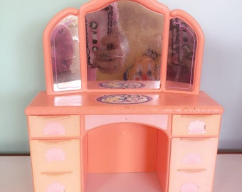 Retro 1991 Barbie Dressing Table