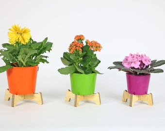Plant stands Flower coasters