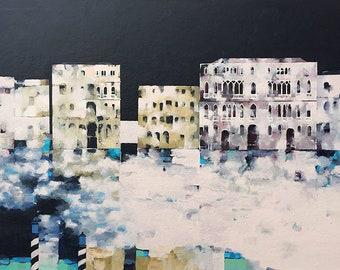 Fine Art Print | Memories of Venice | Unframed | From Original Acrylic