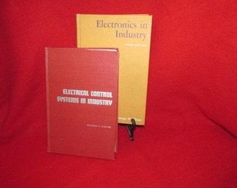Two Vintage Textbooks on Industrial Electronics