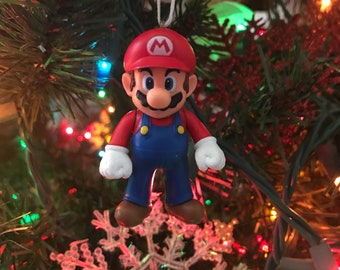 Super Mario Standing Holiday Christmas Ornament