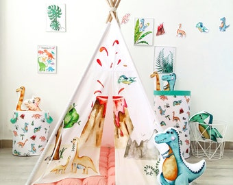 Kids Tepee with volcano