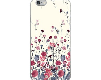 Flower love iPhone Case