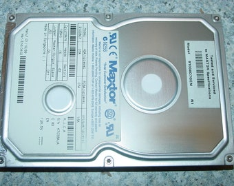 "Maxtor 10GB 3.5"" IDE Hard Drive 91008D7 HDD for Vintage Computing"