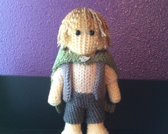 Crochet Samwise Gamgee -Lord of the Rings