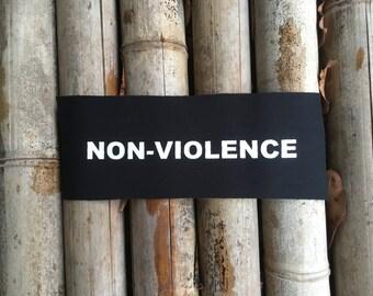 NON-VIOLENCE Patch