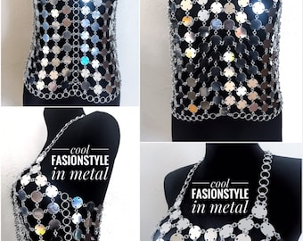 Dress 'Martusa III' - Cool FASHIONSTYLE in metal