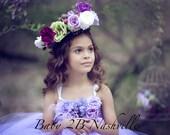 Lavender Dress Flower Gir...