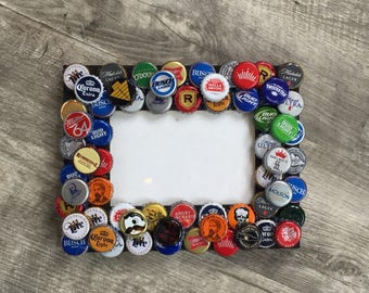 Bottle Cap Picture Frame 4x6