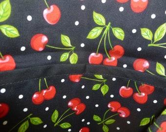 Cherry cobbler apron