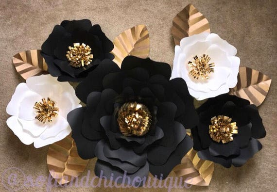 Large Paper Flower Backdrop Wedding Backdrop Wall Decor