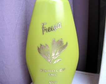 Set of Fresia talk UNOPENED, new and bottle of Cedar Wood Lotion (open)