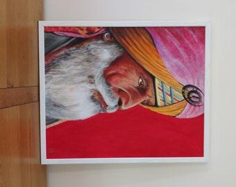 Sultan - Original painting