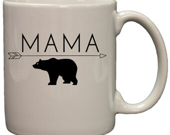 Mama Bear Mother's 11oz Coffee Mug