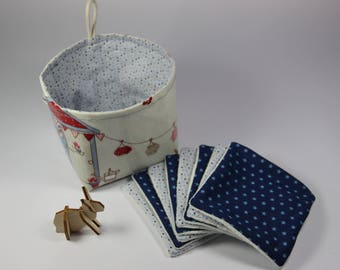 GIFT IDEA! Wipes for baby toilet and her basket.