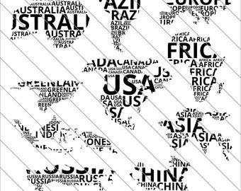 World map silhouette etsy world map silhouettes svg map clipart map silhouettes world map svg cut filedxfpng use with silhoutte studio cricut instant download gumiabroncs Image collections