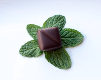Andrew's Mints Ganache Truffles - Dark Chocolate Covered