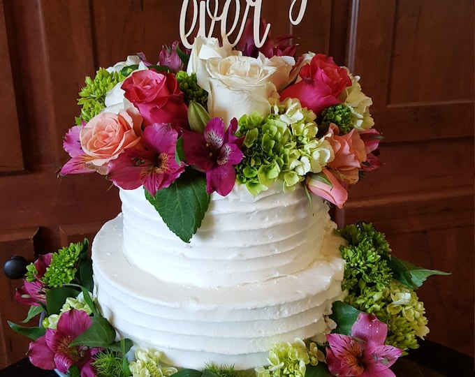Wedding Cake Topper - Best Day Ever - Birthday Cake Topper - Graduation Cake Topper - Cake Decor - Celebration - Party