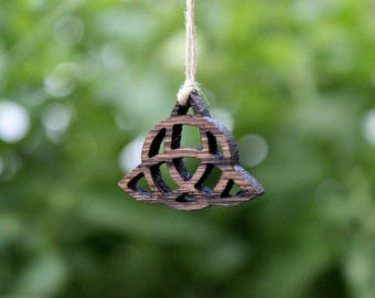 Triquetra necklace, pendant, jewelry, Trinity Knot, witchy, Celtic, Pagan, Wiccan, Jewelry