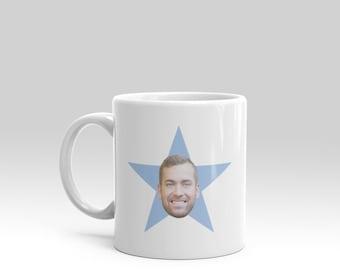 The office *your face* star mug