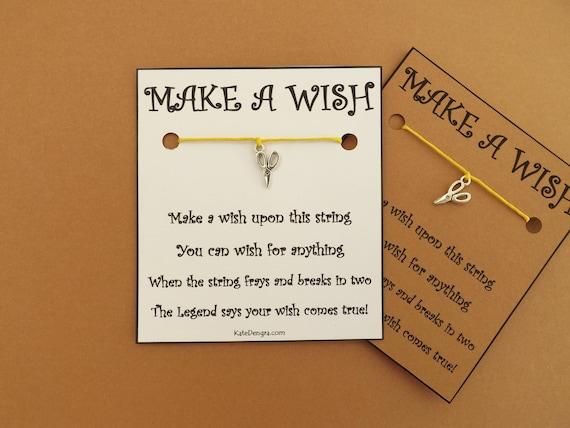 Scissors Wish Bracelet