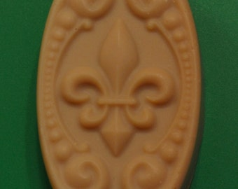 Fleur de lis Oatmeal, Almond Milk, & Honey Soap Fragrance or Magnificent Magnolia Fragrance, Handmade Bar Soap