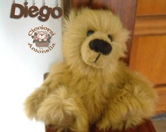 Teddy bear OOAK - DIEGO