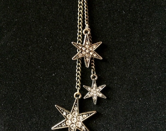 Unique Starry Night Dangling Necklace