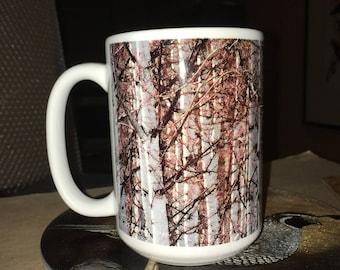Spring Aspen Large Coffee Mug 15 oz.