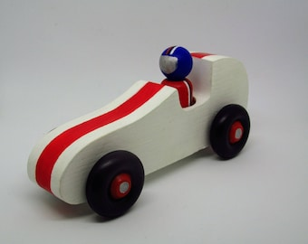 Race Car with Driver - Wood Toys