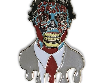 They Live OBEY Monster Movie Enamel Lapel Pin Hat Pin Collectible Hatpin Limited Edition
