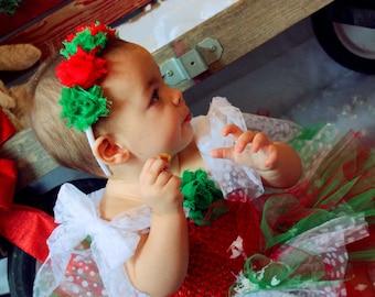 Christmas Dress, Xmas Dress, Christmas Tutu, Holiday Dress, Outfit of Choice, Pageants, Flower Girl Dress