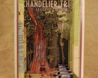 Chandelier Tree - Tunnel Book by theZim