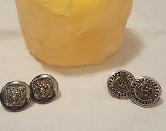 Vintage button Studs