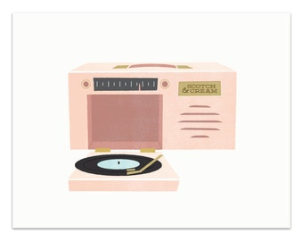 Record Player - Portable
